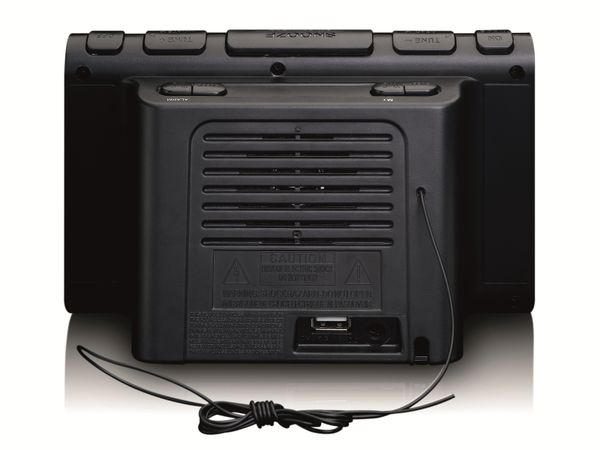 Radiowecker LENCO CR-525BK, schwarz - Produktbild 4