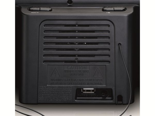 Radiowecker LENCO CR-525BK, schwarz - Produktbild 6