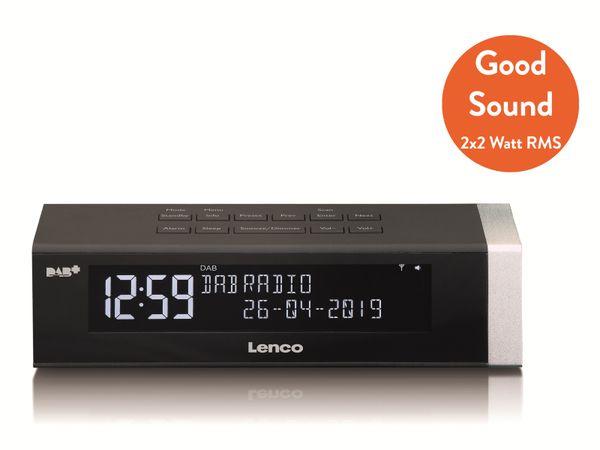 DAB+/FM Radio LENCO CR-630BK, schwarz