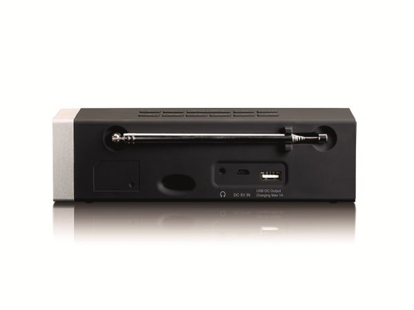 DAB+/FM Radio LENCO CR-630BK, schwarz - Produktbild 3