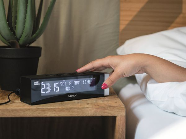 DAB+/FM Radio LENCO CR-630BK, schwarz - Produktbild 10
