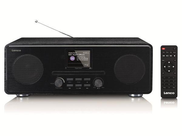DAB+/FM Radio LENCO DAR-061, CD-Player, Bluetooth, schwarz