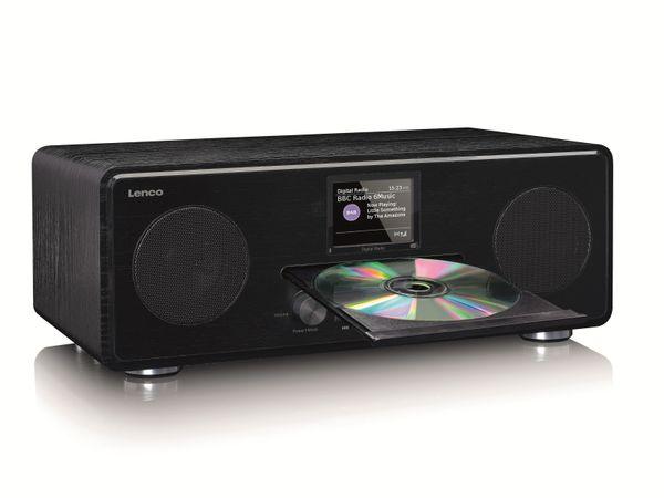 DAB+/FM Radio LENCO DAR-061, CD-Player, Bluetooth, schwarz - Produktbild 2