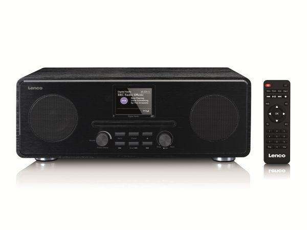 DAB+/FM Radio LENCO DAR-061, CD-Player, Bluetooth, schwarz - Produktbild 5
