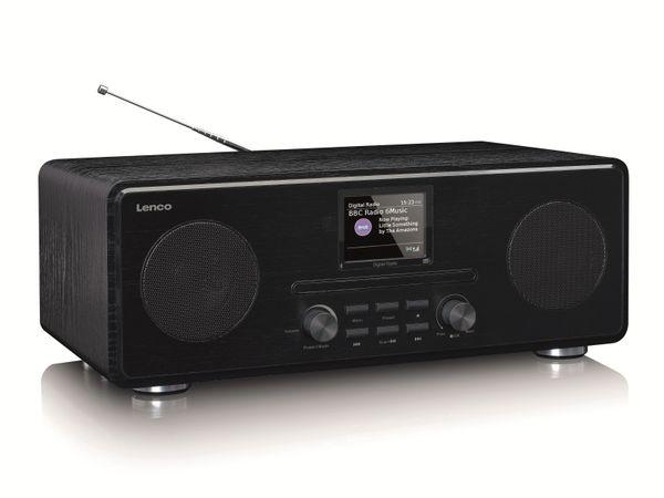 DAB+/FM Radio LENCO DAR-061, CD-Player, Bluetooth, schwarz - Produktbild 6