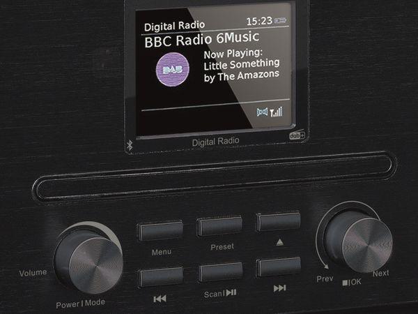 DAB+/FM Radio LENCO DAR-061, CD-Player, Bluetooth, schwarz - Produktbild 7