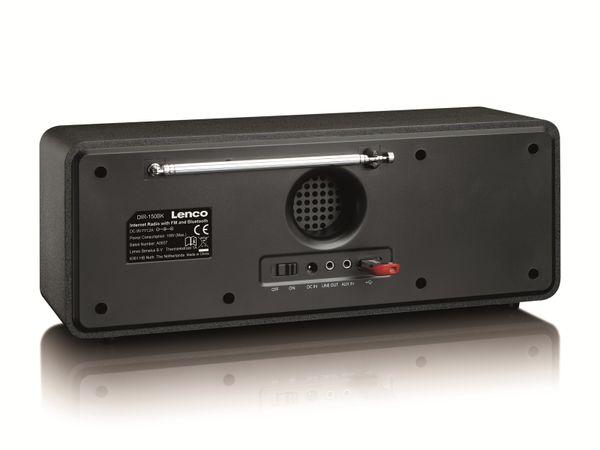 Internetradio LENCO DIR-150, Bluetooth, schwarz/silber - Produktbild 5