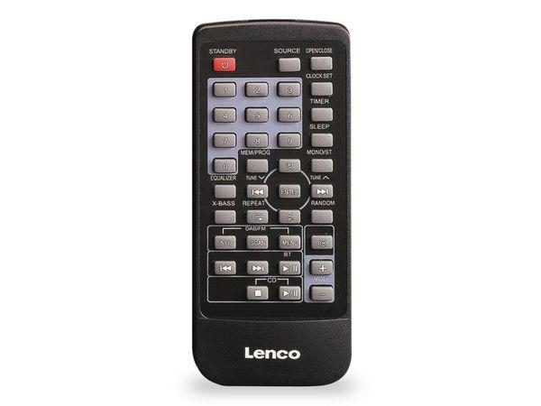 Internetradio LENCO DIR-150, Bluetooth, schwarz/silber - Produktbild 6