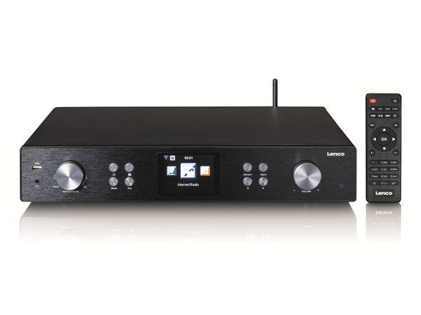 Internetradio LENCO DIR-250BK, DAB+/FM, Bluetooth, schwarz