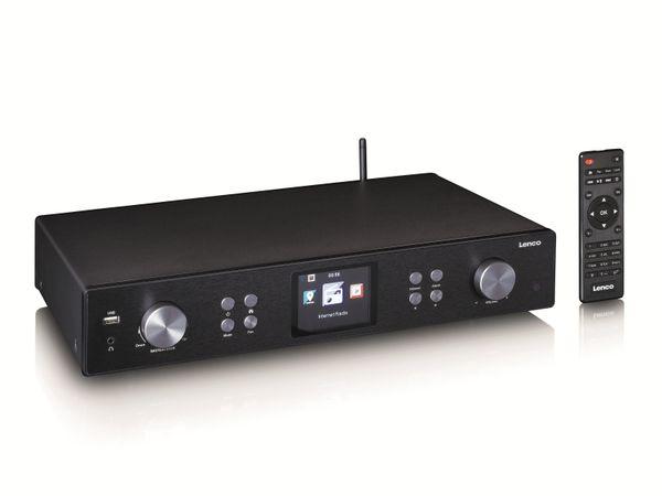 Internetradio LENCO DIR-250BK, DAB+/FM, Bluetooth, schwarz - Produktbild 2