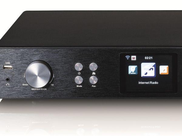 Internetradio LENCO DIR-250BK, DAB+/FM, Bluetooth, schwarz - Produktbild 6