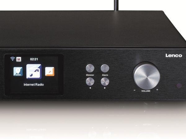 Internetradio LENCO DIR-250BK, DAB+/FM, Bluetooth, schwarz - Produktbild 7