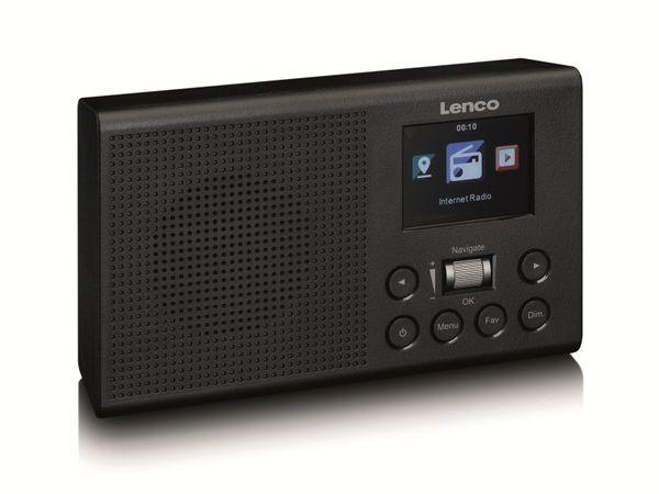 Internetradio LENCO DIR-60BK, DAB+/FM, WLAN, schwarz - Produktbild 2