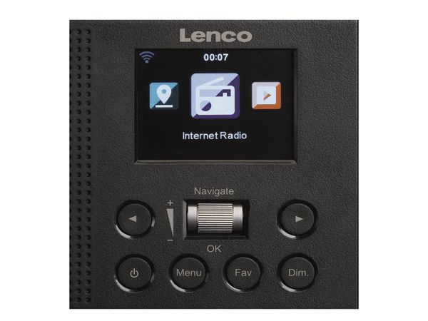 Internetradio LENCO DIR-60BK, DAB+/FM, WLAN, schwarz - Produktbild 3