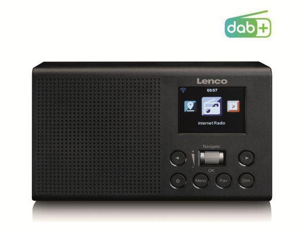 Internetradio LENCO DIR-60BK, DAB+/FM, WLAN, schwarz - Produktbild 4