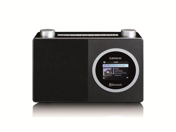 Internetradio LENCO DIR-70BK, DAB+/FM, WLAN, Bluetooth, schwarz
