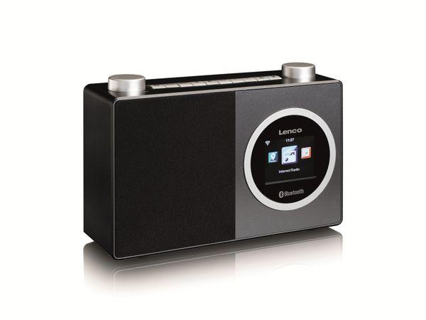 Internetradio LENCO DIR-70BK, DAB+/FM, WLAN, Bluetooth, schwarz - Produktbild 2