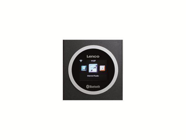 Internetradio LENCO DIR-70BK, DAB+/FM, WLAN, Bluetooth, schwarz - Produktbild 4