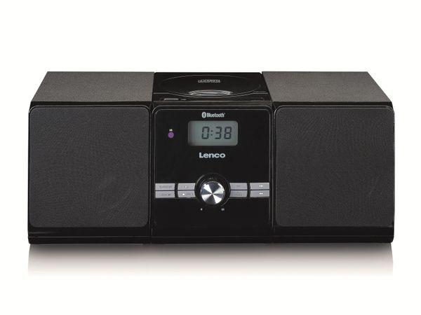 Stereoanlage LENCO MC-030BK, FM, USB, CD/MP3-Player, Bluetooth, schwarz