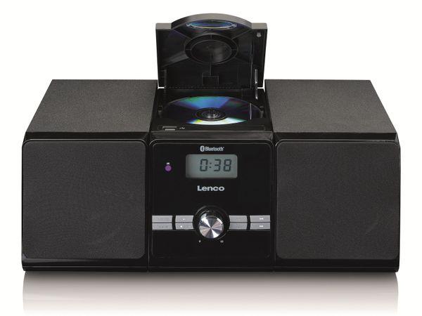 Stereoanlage LENCO MC-030BK, FM, USB, CD/MP3-Player, Bluetooth, schwarz - Produktbild 3