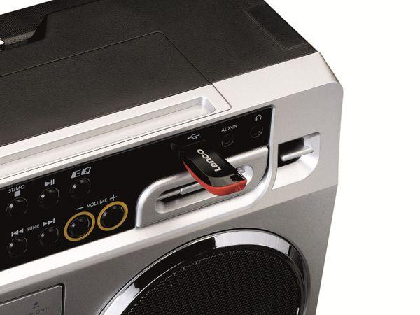 FM-Radio LENCO SCD-580SI, USB, CD/MP3-Player, Bluetooth, silber - Produktbild 5