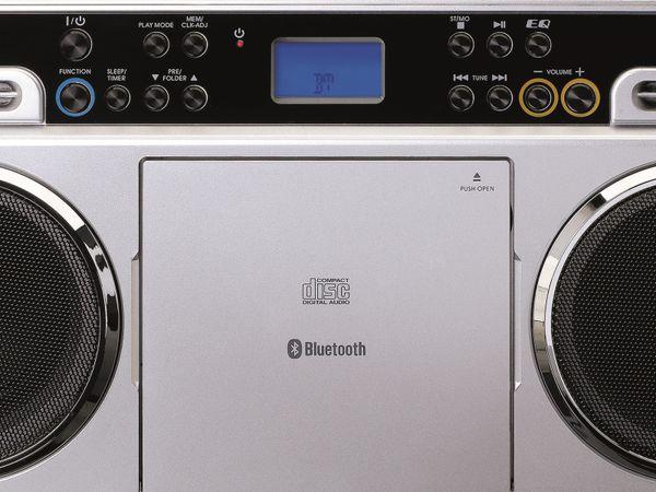 FM-Radio LENCO SCD-580SI, USB, CD/MP3-Player, Bluetooth, silber - Produktbild 6