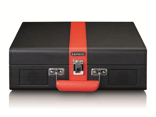 Plattenspieler LENCO TT-110, Retro-Stil, Bluetooth, int. Lautsprecher, schwarz - Produktbild 4