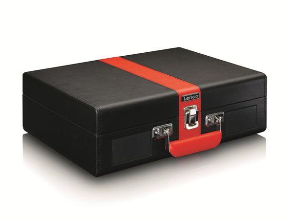 Plattenspieler LENCO TT-110, Retro-Stil, Bluetooth, int. Lautsprecher, schwarz - Produktbild 5