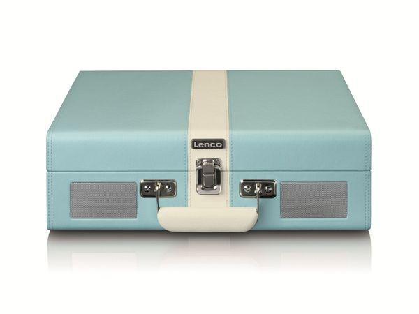 Plattenspieler LENCO TT-110, Retro-Stil, Bluetooth, int. Lautsprecher, blau - Produktbild 4