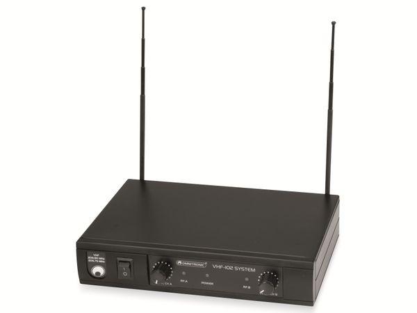 Mikrofonanlage OMNITRONIC VHF-102 - Produktbild 3