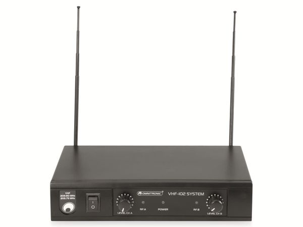 Mikrofonanlage OMNITRONIC VHF-102 - Produktbild 4