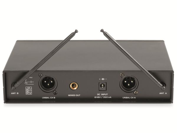 Mikrofonanlage OMNITRONIC VHF-102 - Produktbild 5