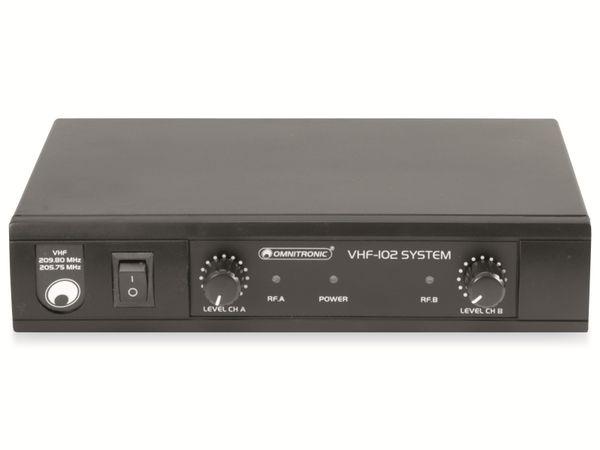 Mikrofonanlage OMNITRONIC VHF-102 - Produktbild 6
