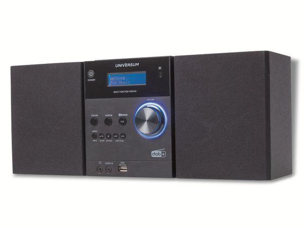 Stereoanlage UNIVERSUM MS 300-21, CD, DAB+ Radio, Bluetooth, USB, schwarz - Produktbild 4