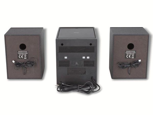 Stereoanlage UNIVERSUM MS 300-21, CD, DAB+ Radio, Bluetooth, USB, schwarz - Produktbild 6