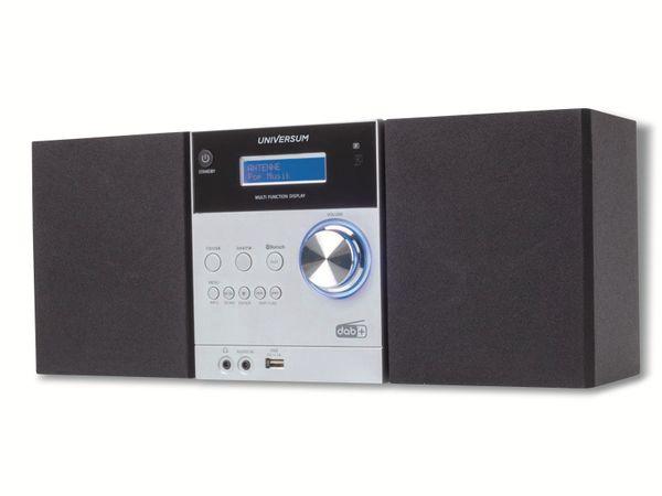 Stereoanlage UNIVERSUM MS 300-21, CD, DAB+ Radio, Bluetooth, USB, silber