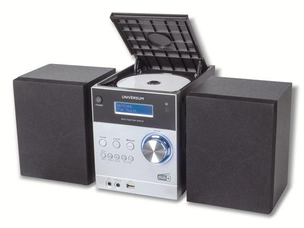 Stereoanlage UNIVERSUM MS 300-21, CD, DAB+ Radio, Bluetooth, USB, silber - Produktbild 2