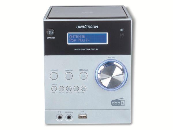 Stereoanlage UNIVERSUM MS 300-21, CD, DAB+ Radio, Bluetooth, USB, silber - Produktbild 3