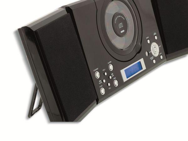 Stereoanlage ROXX MC 201, CD, Radio, schwarz - Produktbild 2