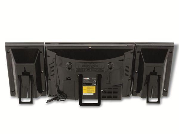 Stereoanlage ROXX MC 201, CD, Radio, schwarz - Produktbild 4