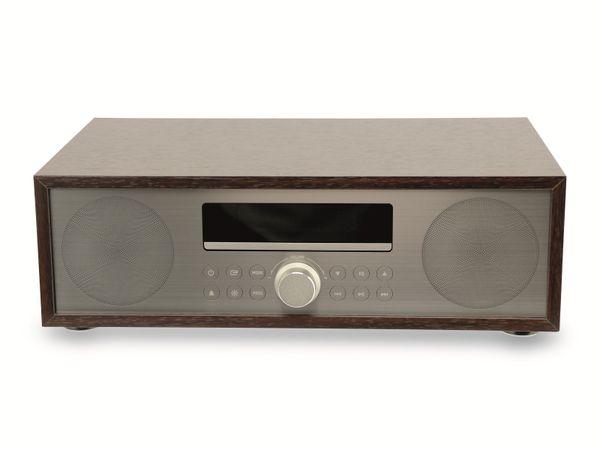 UKW-Radio, MCD 264, dunkelbraun, mit CD Spieler - Produktbild 2