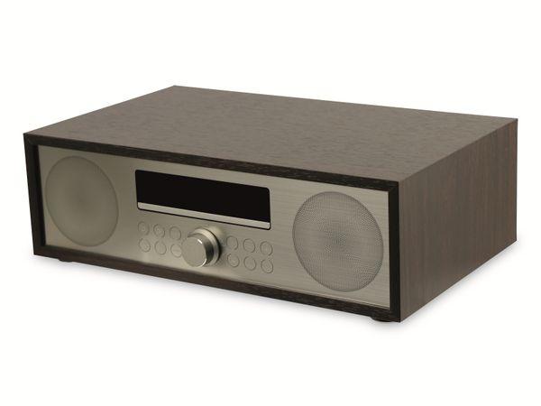 UKW-Radio, MCD 264, dunkelbraun, mit CD Spieler - Produktbild 3