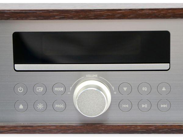 UKW-Radio, MCD 264, dunkelbraun, mit CD Spieler - Produktbild 4