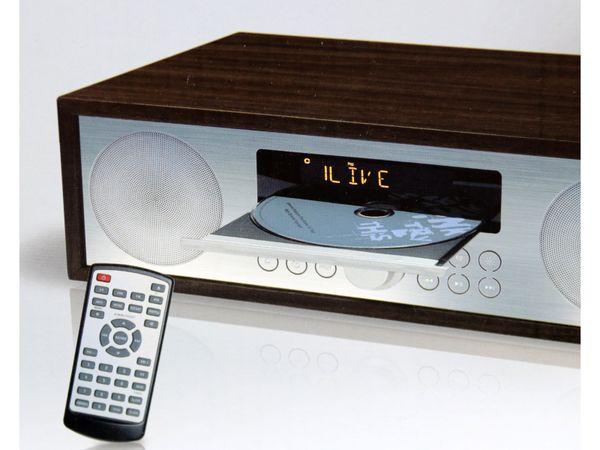 UKW-Radio, MCD 264, dunkelbraun, mit CD Spieler - Produktbild 6