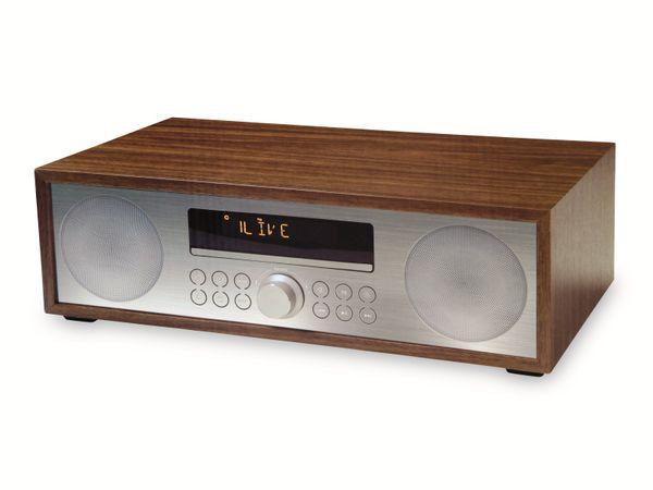 UKW-Radio, MCD 264, braun, mit CD Spieler