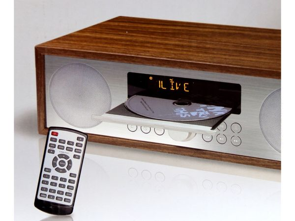 UKW-Radio, MCD 264, braun, mit CD Spieler - Produktbild 5