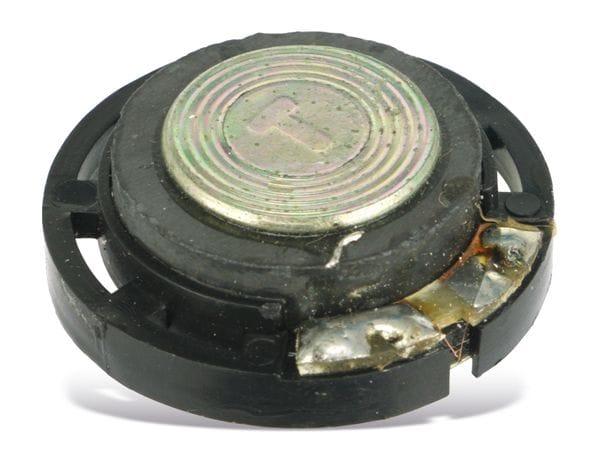 Kleinlautsprecher, 8 Ω, 29 mm - Produktbild 2