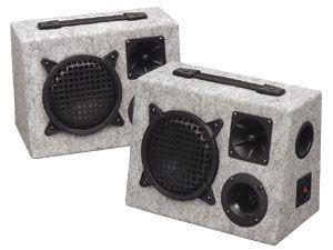 """Bassreflex-Bühnenbox """"Dual-Bass"""""""