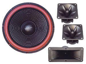 Boxenbau-Set, 250 W, 4...8 Ω