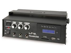 PA-Verstärker mit MP3-Player LTC PAA60USB - Produktbild 1